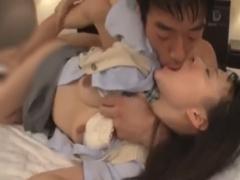JK制服心花ゆらまん◯突いたままベロチューもっともっととおねだりキス奥を...