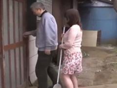 六十路不倫 近所のオヤジの絶倫棒で絶頂する還暦奥さん…