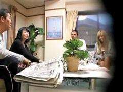 外人  恩を仇で返される旦那 嫁が留学生に凌辱された記録映像