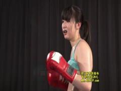 女子プロボクサーがデカチンのガチ犯罪者レイパーと真剣勝負w負けたら中田...