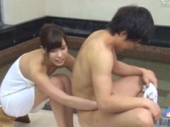 一般男女モニタリングAV 部活の合宿で温泉旅館に来ていた男女の大学生が混...