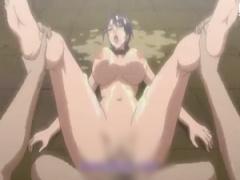 エロアニメ 種付けセックスで辱め! 女としての最大の屈辱を受ける姦淫セッ...