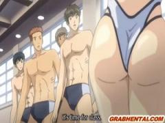 エロアニメ 教育現場でこんな水着着る教師とかイカれてるだろw しかも乳首...