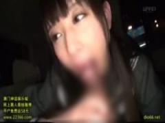 JKフェラ手コキ めちゃかわセーラー服女子校生とおじさんが援交…車内でい...