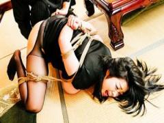 豊満な肢体を縛られ性交凌辱に悶える小向美奈子