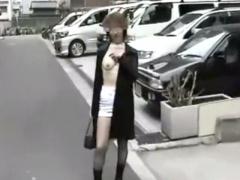 個人撮影 スキモノ露出奥さん、ネカフェや車内でイキ狂うww