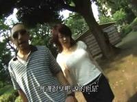 公園で妻がおっぱい丸出し エロ夫婦の過激な公園遊び!!