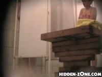 アメリカ女子校のシャワーを盗撮