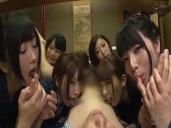 上原亜衣や大槻ひびき、波多野結衣なつめ愛莉篠田ゆうたちに囲まれてずっ...