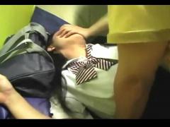 個人撮影  もぉいやぁ… カラオケ内で援交JKとハメる! もはやレイプなガチ...