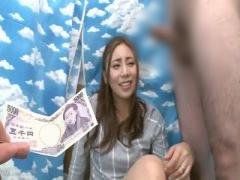 3分触ってくれれば5千円! 次々と提示金額が上がり、センズリ鑑賞だけでな...