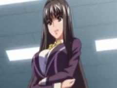 エロアニメ 超お嬢様JKは生徒会長も務める学園のアイドル…だけど性格が悪...