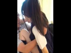 美少女現役女子校生の援助交際スマホでハメ撮り個人流出
