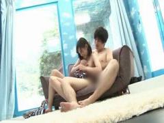 水着の美女が童貞男性と抱き合いセックスwww マジックミラー号 MM号動画
