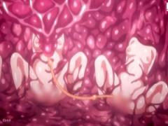 エロアニメ ヌルヌル触手がエッチな学校女子達を支配! 性奴隷化してレイプ