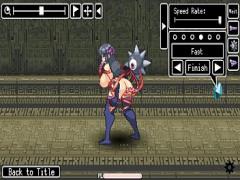 エロアニメ 触手モンスターに犯されて絶頂する巨乳くノ一