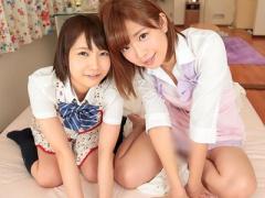 女子校生 巨乳おっぱいの可愛い美人JKの妹 美少女の女子校生と3P乱交騎乗...