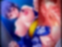 エロアニメ 浴衣姿の巨乳美少女と青姦中出しエッチ
