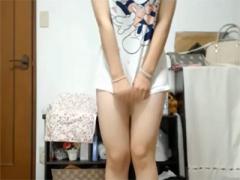 エロイプ 黒髪美少女がスカート脱いで純白のパンツを披露wwwwww