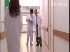 エロ過ぎる女医の吉沢明歩が病院の中でセックスする! ! ! !