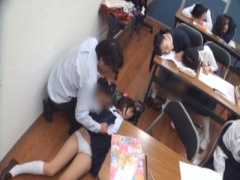 昏睡レイプ 成績優秀エリート美少女たちがみんな寝ちゃって授業にならない...