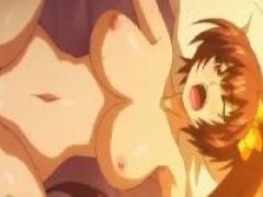 エロアニメ 巨乳おっぱい美少女ちゃんがカレシくんといちゃラブはじめてエ...