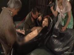 元ヤンの爆乳女捜査官は媚薬漬けにされひ弱な男たちに凌辱調教されアヘアヘ