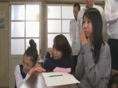 トップAVに女優の北条麻妃が母校に帰り身体をはった猥褻すぎる性教育ww