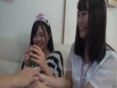 友人の彼女を誕生日会にかこつけて泥酔させて女友達もまとめてヤっちゃい...