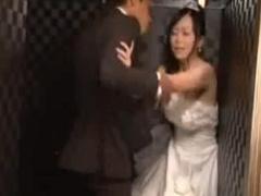 ストーカー男から結婚式中にレイプされる花嫁!
