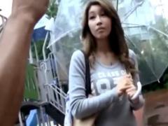 韓国人妻ナンパ 団地の公園でコリアン巨乳美女をゲットしてホテルで...! ?...