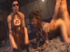 地下室でレイプされまくる2人の美女 及川奈央
