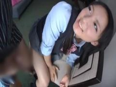 巨尻女子校生のムチムチ尻肉にザーメンをぶっかけ尻フェチ映像!