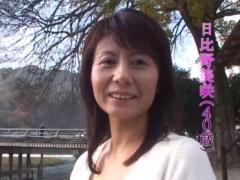 AV応募の美熟女 美咲 40歳 別居中の人妻 不倫棒挿入 フェラ抜き口内射精