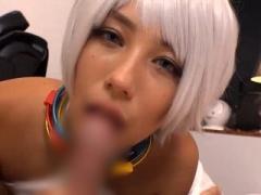 アニコスの女の3Pコスプレプレイエロ動画!