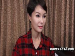 素人 韓国遠征ナンパ! タイトなミニスカを履いたショートカット韓国人美女...