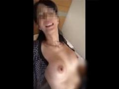個人撮影 携帯撮影流出! 会社の人妻熟女OLの受付嬢とのホテルハメ撮り映像...