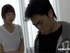 新大久保 若干だらしない身体の韓国人女性にマッサージしてもらった後おセ...