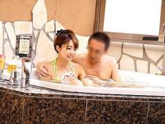 素人盗撮 混浴風呂でそのへんのビキニ素人OLとオイルぬるぬる種付けハメハメ