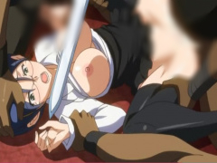 血まみれマンコに連続中出し。処女が孕むまで犯される エロアニメ