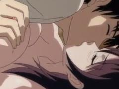 エロアニメ ディープキスしまくりで男誘惑しちゃう爆乳おっぱい美女が超ッ...