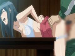 エロアニメ スタイル完璧巨乳美人が弱みを握られてハゲ管理人のオッサンか...
