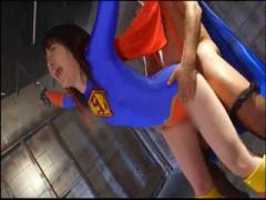 アニコスヒロインレイプ処女喪失 スーパーウーマンは実は処女だった