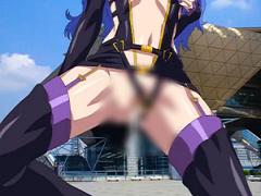 エロアニメ マク○スFのシ○リルのコスの痴女レイヤーをコミケでナンパして...
