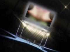 リング上の大型ビジョンにオマンコ大写し! ! 秘密裏に行われているアンダ...