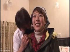完熟熟女 アナル大好きおばさんのオーガズム お尻突き出しヒクヒクアヌス