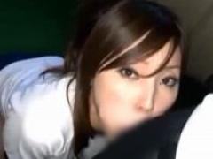 口内射精 ブルマ女子校生が手を使わないバキュームフェラで連続ごっくん!
