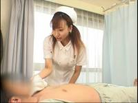 寝たきりで動けない患者を手コキで発射させる優しいナース