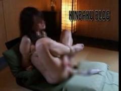 個人撮影 素人 縄で縛られた人妻マゾ女が固定電マ放置プレイで強制絶頂イ...