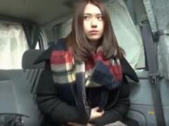 素人ナンパ エリカ様似! ?来日したばかりのアジア系留学生に 東京案内しま...
